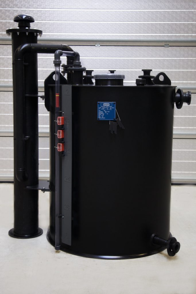 HCL tank with Scrubber