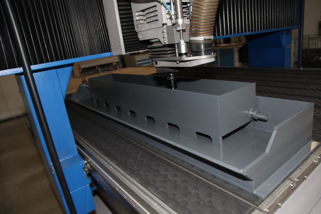 FR - technical parts milling